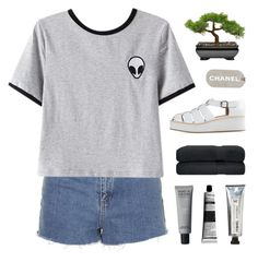 """""""this can't be the end"""" by kristen-gregory-sexy-sports-babe ❤ liked on Polyvore featuring Topshop, Chicnova Fashion, Chanel, Jeffrey Campbell, Aesop and L:A Bruket"""