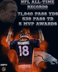 Peyton Manning will be the oldest QB to start a Super Bowl. Congrats to the Denver Broncos! Denver Broncos Peyton Manning, Denver Broncos Football, Best Football Team, Football Baby, Football Season, Pittsburgh Steelers, Broncos Gear, Go Broncos, Broncos Fans