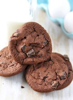 Double Espresso Cookies & Cookbook Giveaway by Jennifer Leal @savorthethyme