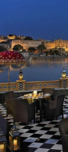 """world-ethnic-beauty: """" Hotel Savera Taj Lake Palace in Udaipur, India """""""