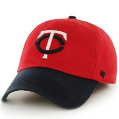 960ea2405145aa Men's Minnesota Twins '47 Red/Navy Franchise Batting Practice Fitted Hat,  Your