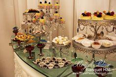 Pastry Table At Royal Palace Banquet Hall Glendale CA 818.502.3333.