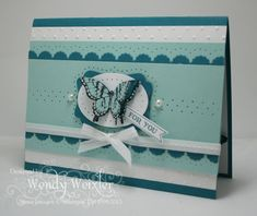 Wickedly Wonderful Creations: Butterfly Blues.   Papillon Potpourri.  Stampin' Up!