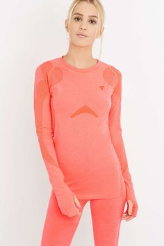 Y.A.S Sport Anatomy Long Sleeve Pink Top