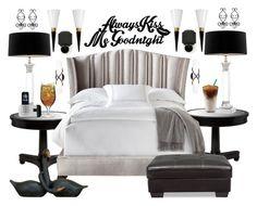 """Always Kiss Me Goodnight"" by bcurryrice on Polyvore featuring Troy Lighting, Astoria, Haute House, Eichholtz, Rich Brilliant Willing, Luigi Bormioli and Carlos by Carlos Santana"
