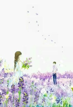 Stock Gallery - Couple (art) - Page 2 - Wattpad Couple Manga, Anime Love Couple, Couple Cartoon, Couple Art, Art Anime, Anime Art Girl, Couple Illustration, Illustration Art, Illustrations