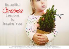 Christmas photo sessions to inspire you