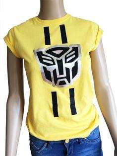 Las señoras Bumble Bee transformadores t-shirt por iganiDesign