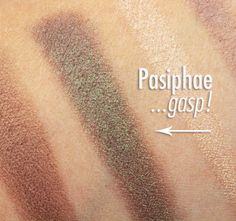 NARS Fall 2015 collection swatches and review -  Dual-Intensity Eyeshadows in Pasiphae and Telesto.