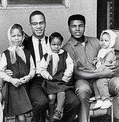 Wow, look at this picture. Malcolm X and Muhammad Ali...never saw this picture before.