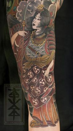 1000 images about possible japanese tattoos for myself on for Female samurai tattoo