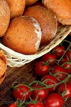 Moje Wypieki | Bułeczki z pomidorami