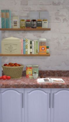Clutter Shelf here at Nullspace Nancy via Sims 4 Updates