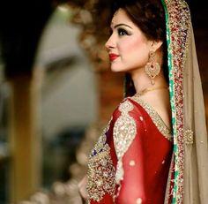 Pretty color combination of the dress designer credits to Mehdi