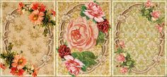 """9 """"Floral"""" Hang Gift Tags for Scrapbook Pages 23 