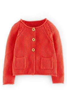 Mini Boden Cable Knit Detail Button Cardigan (Toddler Girls, Little Girls & Big Girls) available at #Nordstrom