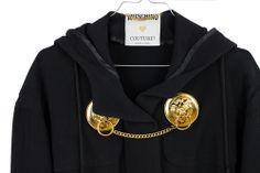 80s Moschino Couture Doorknob Jacket avvaible on aboyscloset.com moschino #couture #doorknob #lion #vintage #fashion #aboyscloset #style