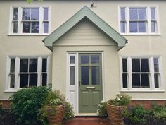 Stunning triple sash windows in Suffolk home make over - The Burgess Group Painted Pebbledash, Sash Window Repair, Double Glazed Sash Windows, Window Company, Architrave, Wooden Windows, Exterior Cladding, Building A House, Build House