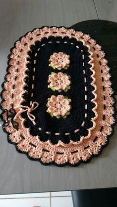 Free Crochet Doily Patterns, Crochet Designs, Crochet Doilies, Crochet Flowers, Spiral Crochet, Crochet Round, Crochet Home, Yarn Crafts, Diy And Crafts