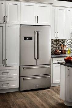 Refrigerator Cabinet, Stainless Steel Refrigerator, Stainless Steel Kitchen Appliances, 36 Inch Refrigerator, Best French Door Refrigerator, Kitchen Refrigerators, Best Counter Depth Refrigerator, Best Appliance Brands, Appliance Bundles