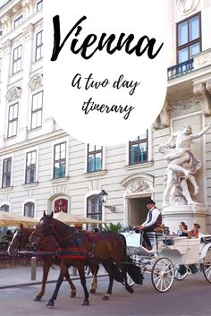 An action packed two day itinerary for beautiful Vienna, with some surprising pit stops.  Schonbrunn Palace | Architecture | Viennese | Pastries | What to do in Vienna | Solo travel | Travel inspiration | Europe culture