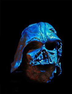 Vader Death-mask, Greg Hildebrandt Cool Tones, Comic Art, Scenery, Death, Star Wars, Geek, Image, Landscape, Geeks