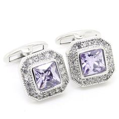 Purple Crystal Cufflinks http://astore.amazon.com/ahoy-20/detail/B00FXI3WDG