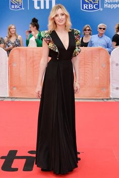 Laura Carmichael wore Fendi