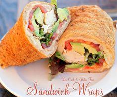 Low Carb Sandwich Wraps - Only 2.6 carbs per delicious wrap!