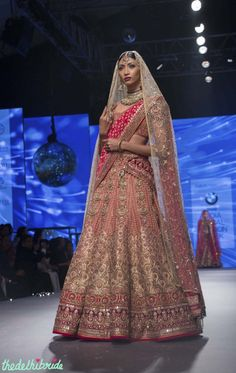 Tarun Tahiliani at BMW India Bridal Fashion Week 2015 | thedelhibride Indian Weddings blog