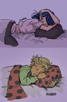 Awww! Are these Mari and Adrien as kids?! They are SOOO cute