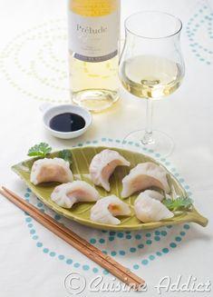 Ha Kao Crevette & Légumes ◊ Des bouchées vapeur pour accompagner un Côtes de Gascogne blanc - Cuisine Addict