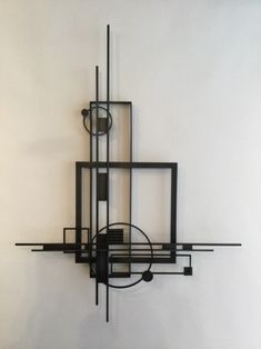 Wall Sculptures What's Art ? Abstract Sculpture, Sculpture Art, Metal Wall Art, Wood Art, Composition Art, Industrial Furniture, Rustic Industrial, Geometric Art, Wall Sculptures