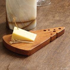 Slice of Swiss Cheese Board