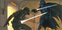 Foi McQuarrie que sugeriu que Vader usaria um equipamento de respiração.