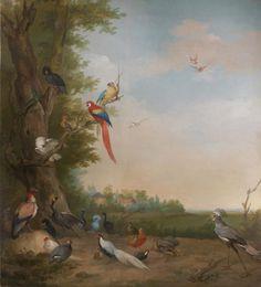 Een koninklijk paradijs – Aert Schouman en de verbeelding van de natuur. Paradijselijk genieten van 18 de- eeuwse flora en fauna en Koninklijk behang!