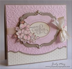 Beautiful Mother's Day card (by Judy May)