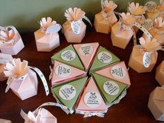 Creative Baby Shower Favor Ideas