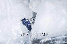 #inverno #collection #ring #sapphires #diamonds #icy #glacial #gemstone #precious #arsublime #italia #madeinitaly #finejewellery #gold #ice #closeup #blue #roma #lussoartigianaleitaliano #upsidedown