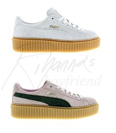 Puma Suede Creeper by Rihanna - NEW COLORS coming November 20th