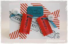 Weiße Valentinskarte aus dem Schelmenwerkstatt-Shop