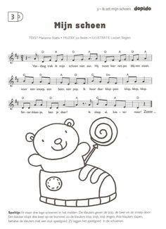 Via liedjes kun je peuter bepaalde woorden leren.