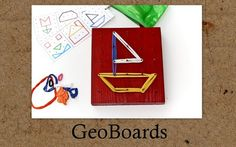 Free printable geoboard shape templates (scroll way down to the end of the post)