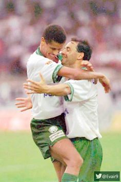 Rivaldo e Evair !!! Bons tempos
