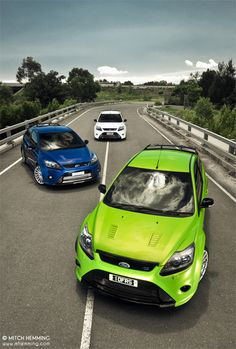 Ford Focus RS by Mitch Hemming, via 500px