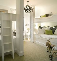 KIDS ROOM – What a creative approach to a child's bedroom. The Enchanted Home: designer spotlight: Joy Tribout