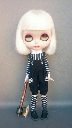 Guarda questo articolo nel mio negozio Etsy https://www.etsy.com/listing/463536972/blythe-dress-halloween-costume