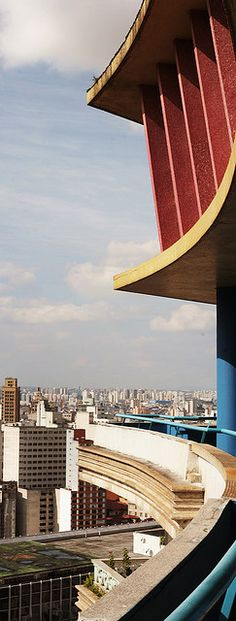 João Artacho Jurado's Edificio Viadutos rooftop