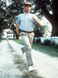Run, Forrest, Run! One of the greatest films ever!