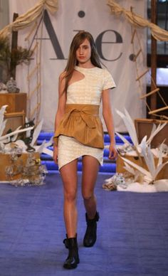 contemporary phenom. from the cuts to fabric to leather waist >>> Aje s/s 2012